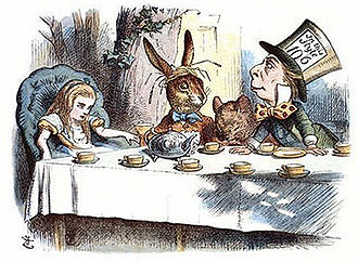 Tenniel, Alice`s Mad Tea Party