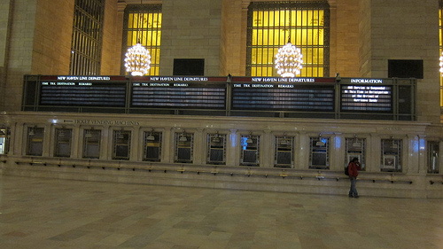 Grand Central Terminal closed