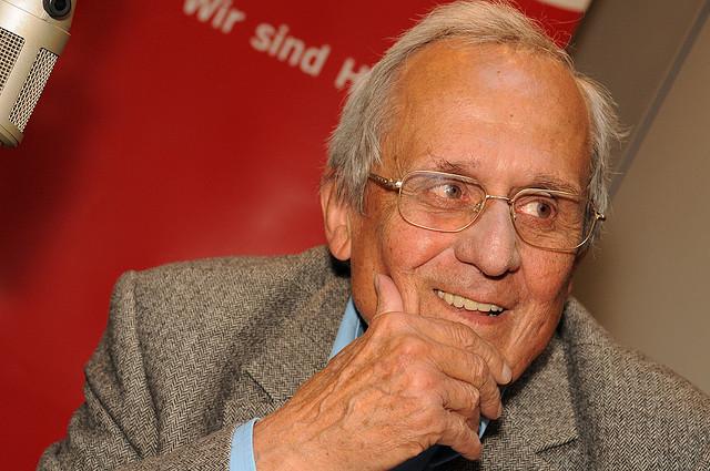Dieter Hildebrandt, 2008, Foto: Marco Maas, CC BY-NC-ND