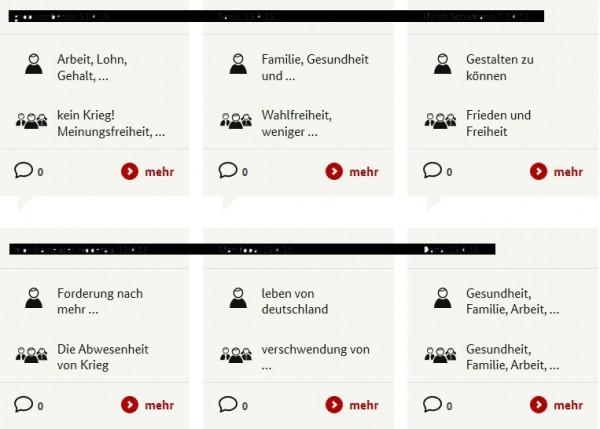 """Screenshot von """"Bürgerdialog"""""""
